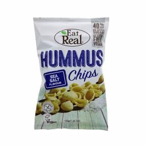 Chipsuri cu sare pentru humus 135g, Eat Real