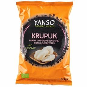 Chipsuri de creveti ECO 60 g, Yakso