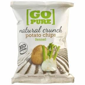 Chipsuri din cartofi cu fenicul ECO 125 g, Go Pure