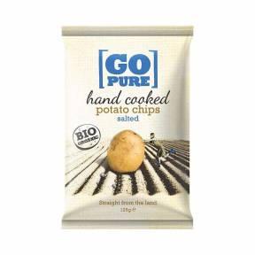 Chipsuri din cartofi (sarate) ECO 125 g, Go Pure
