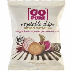 Chipsuri din legume ECO 90 g, Go Pure