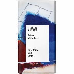 Ciocolata cu lapte ECO 12.5 g, Vivani