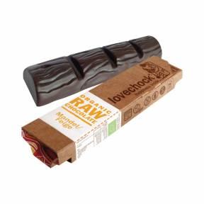 Ciocolata cu migdale si smochine ECO raw-vegan 40 g, Lovechock