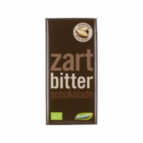 Ciocolata neagra ECO 100 g, Dennree