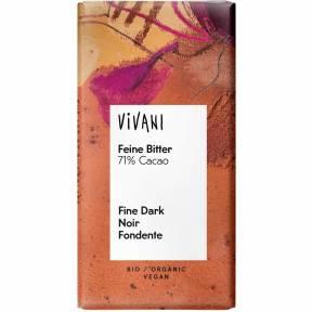 Ciocolata neagra ECO 12,5 g, Vivani