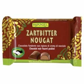 Ciocolata Nougat amaruie , ECO, 100 g, Rapunzel