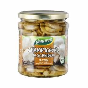 Ciuperci Champignon felii ECO 330g, Dennree