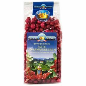 Coacaze rosii liofilizate ECO 45 g, Bioking