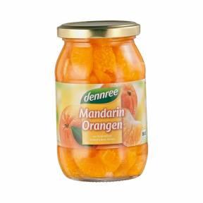 Compot de mandarine ECO 350 g, Dennree