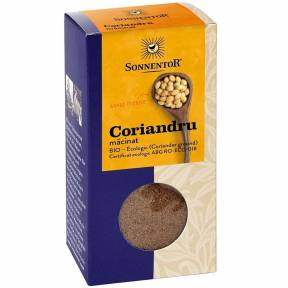Coriandru macinat ECO 40 g, Sonnentor