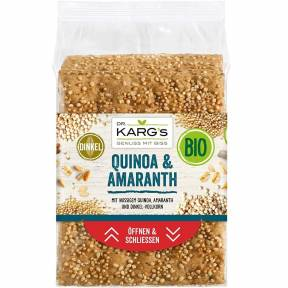 Crackers cu amaranth si quinoa, ECO, 200 g, Dr. Karg's