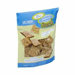 Crackers de spelta cu susan, in si quinoa ECO 110 g, Dr. Karg