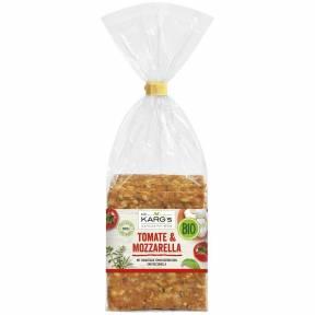 Crackers din faina de grau cu rosii si mozzarela ECO 200 g, Dr. Karg
