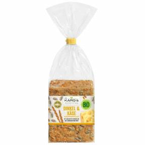 Crackers din faina de grau spelta cu branza emmentaler ECO 200 g, Dr. Karg