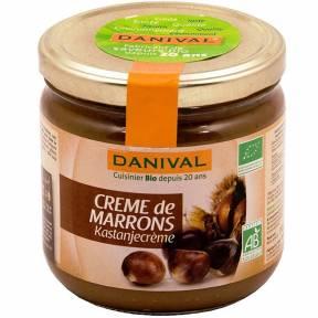 Crema de castane, ECO, 380 g, Danival