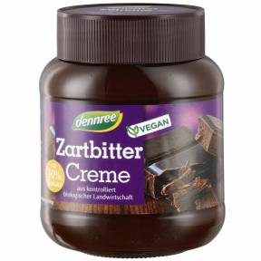 Crema tartinabila de cacao ECO 400 g, Dennree