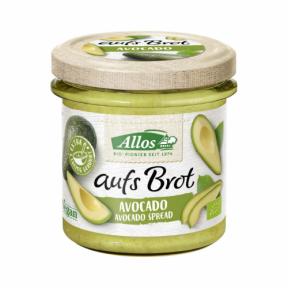 Crema tartinabila din avocado, Fara Gluten, ECO, 140g