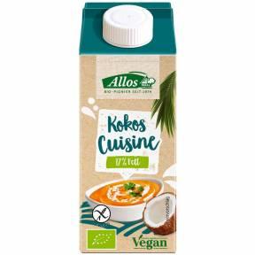 Crema vegetala de cocos pentru gatit ECO 200 ml