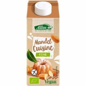 Crema vegetala de migdale pentru gatit ECO 200 ml