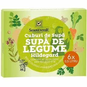 """Cuburi de supa """"Supa de legume Hildegard"""", ECO, 60 g, Sonnentor"""