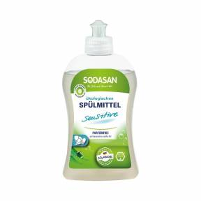 Detergent lichid pentru vase Sensitive 500 ml, Sadosan