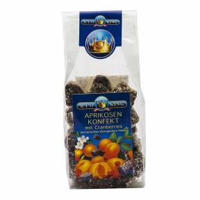Dulciuri din caise si merisoare, ECO, 200 g,