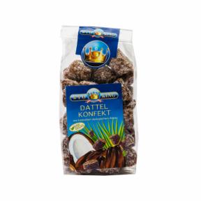 Dulciuri din curmale cu fulgi de cocos ECO 250 g, Bioking