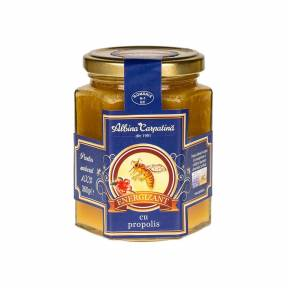 Energizant miere cu propolis 360 g, Albina Carpatina