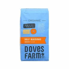 Faina alba de grau cu agenti de crestere ECO 1 kg, Doves Farm