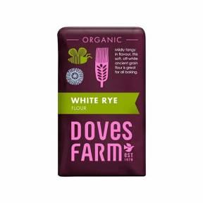 Faina alba de secara, ECO, 1 kg, Doves Farm