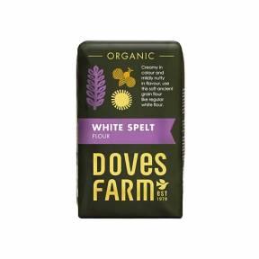 Faina alba din spelta, ECO, 1 kg, Doves Farm