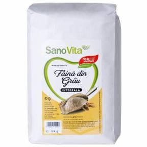 Faina integrala de grau 1 kg, Sano Vita