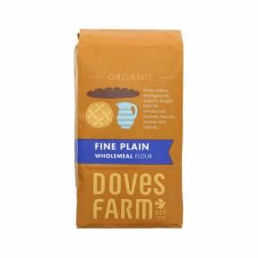 Faina integrala de grau ECO 1 kg, Doves Farm