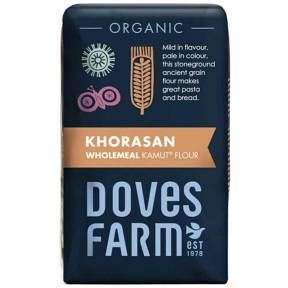 Faina integrala de Kamut, ECO, 1 kg, Doves Farm