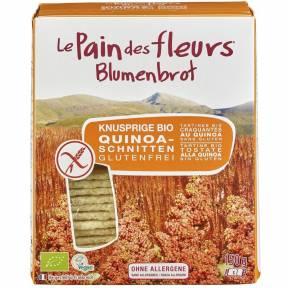 Felii crocante din faina de orez cu quinoa, fara gluten, ECO 150 g (2 x 75 g), Le Pain des fleurs