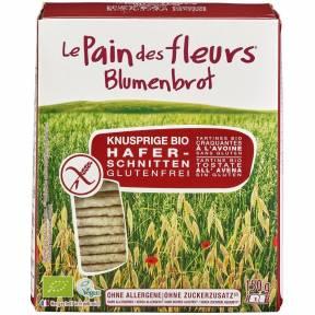 Felii crocante din ovaz, fara gluten, ECO 150 g (2 x 75 g), Le Pain des fleurs