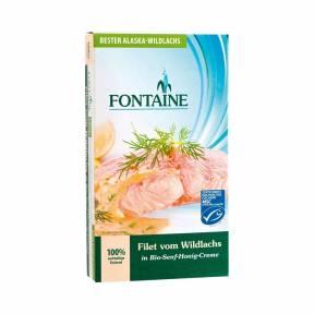 File de somon salbatic in sos de mustar si miere 200 g, Fontaine