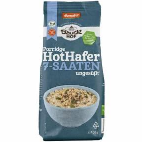 Fulgi de ovaz fara gluten cu amestec de 7 seminte ECO 400 g, Bauck Hof