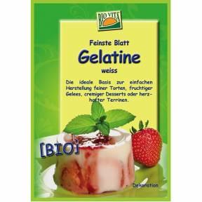 Gelatina alba, ECO, 10 g, Bio Vita