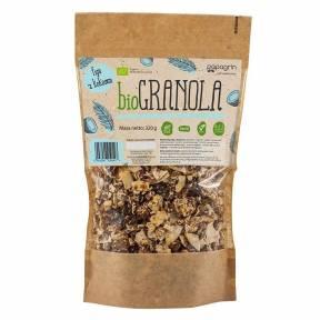 Granola cu smochine si cocos, ECO, 320 g, Papagrin