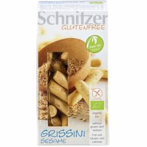 Grisine fara gluten cu susan ECO 100 g, Schnitzer