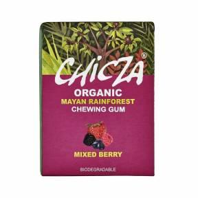 Guma cu aroma de fructe de padure ECO 30 g (12 buc), Chicza