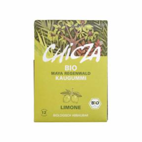 Guma cu aroma de lamaie ECO 30 g (12 buc), Chicza