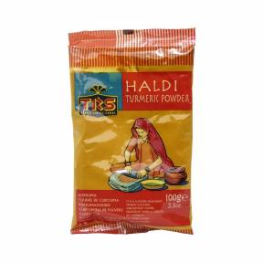 Haldi turmeric powder - Pulbere de turmeric 100 g, TRS