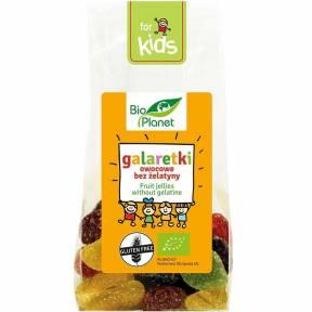 Jeleuri cu fructe, fara gelatina, ECO, 100 g, Bio Planet