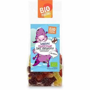 Jeleuri cu fructe, fara gelatina si fara gluten, ECO, 100 g, Bio Minki