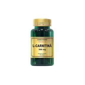 L- Carnitina 500 mg, Cosmo Pharm, 30 tablete