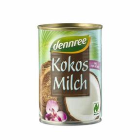 Lapte de cocos ECO 400 ml, Dennree
