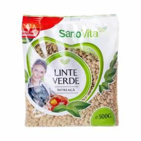 Linte verde 500 g, Sano Vita