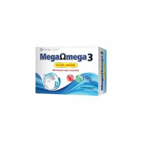 Mega Omega 3 Ulei de peste super concentrat, Cosmo Pharm, 30 Capsule moi
